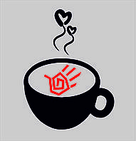 Трафаретка для кофе
