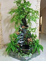 Комнатный Кутовый Фонтан-Водопад Ручной Работы, фото 1