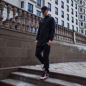 Фирменный мужской спортивный костюм Nike плащевка 893709-010