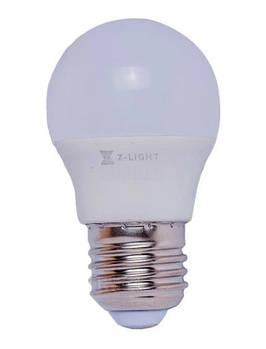 Светодиодная лампа Z-LIGHT 6 Вт 540 Lm 3000 K E27