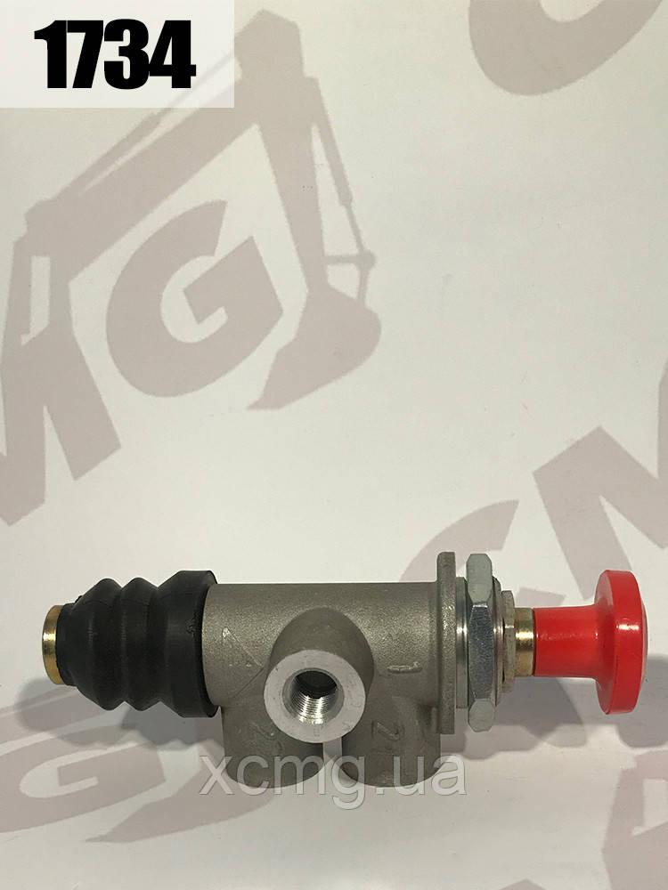 Соленоїдний клапан JH22-06-1.2L системи опалення 24V 8,5A 190w автокрана QY25 \ 50 XCMG