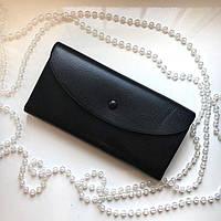 Элегантый женский кошелек-конверт   19*10 см, фото 1