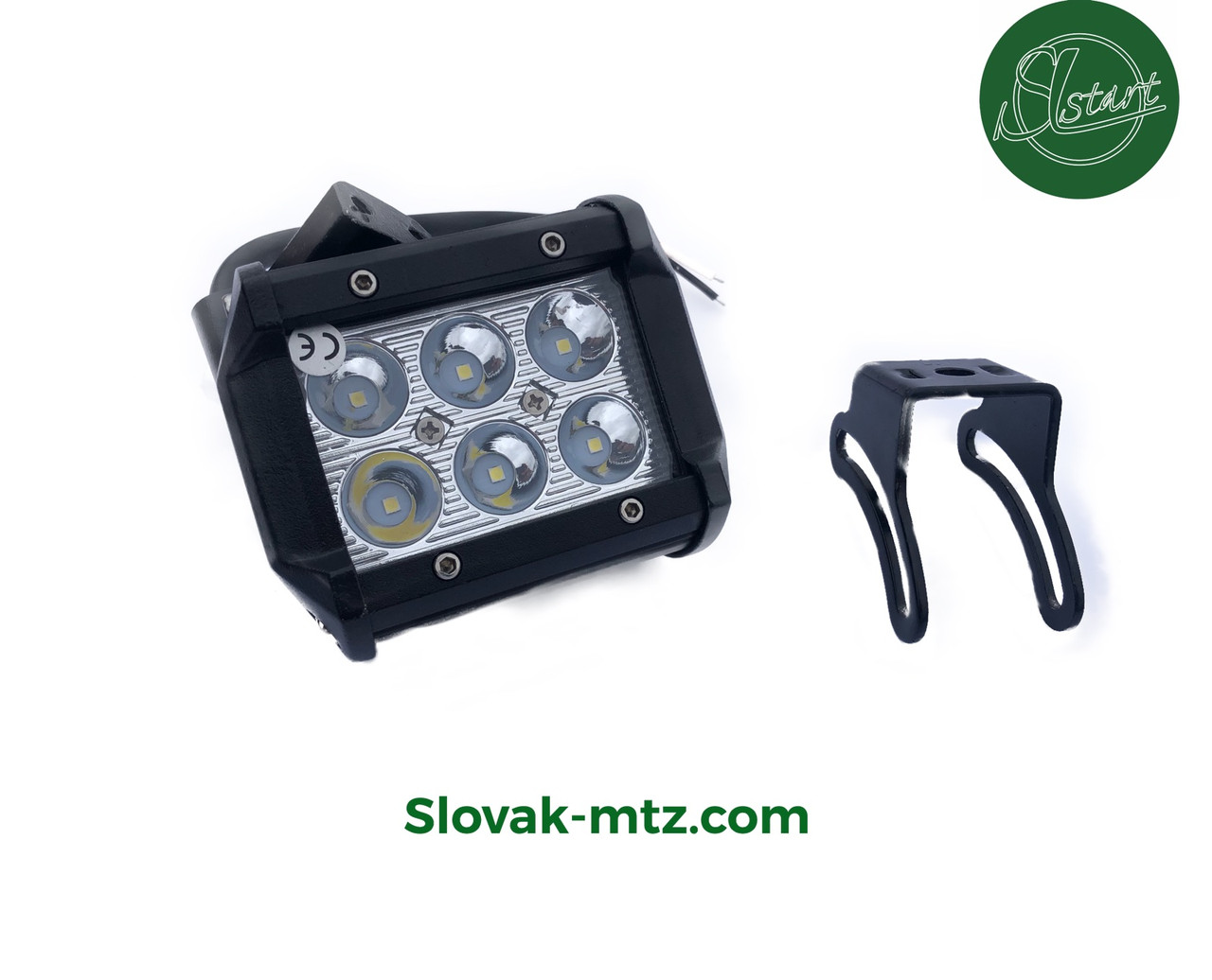 Светодиодная LED фара 18Вт  (светодиоды 3w x6шт)