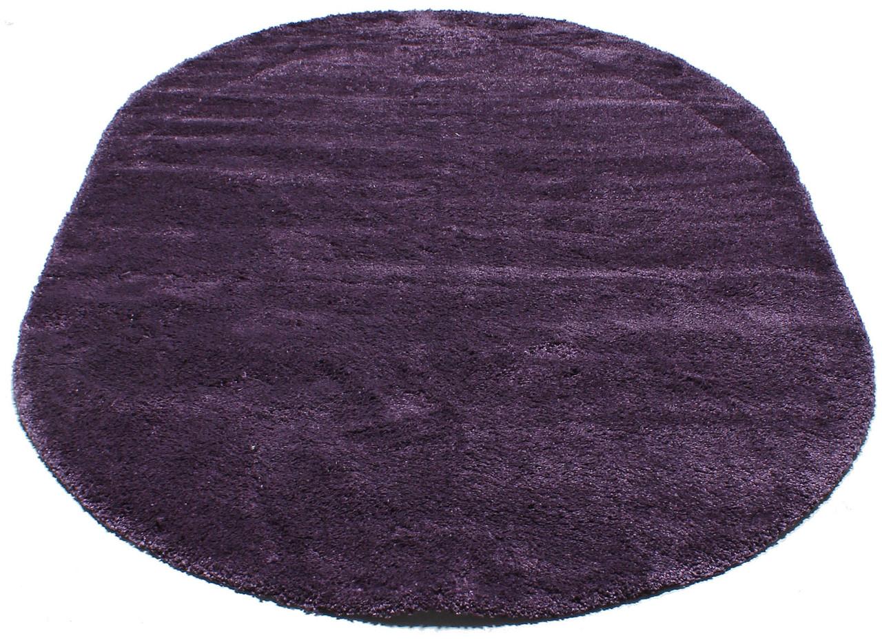 Ковер с длинным ворсом FREESTYLE 0001 2Х4 Фиолетовый овал