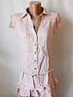 Блузы туники женские хлопок р.42,44,46,48 №0228.Цвета разные.От 16шт по 14грн, фото 5