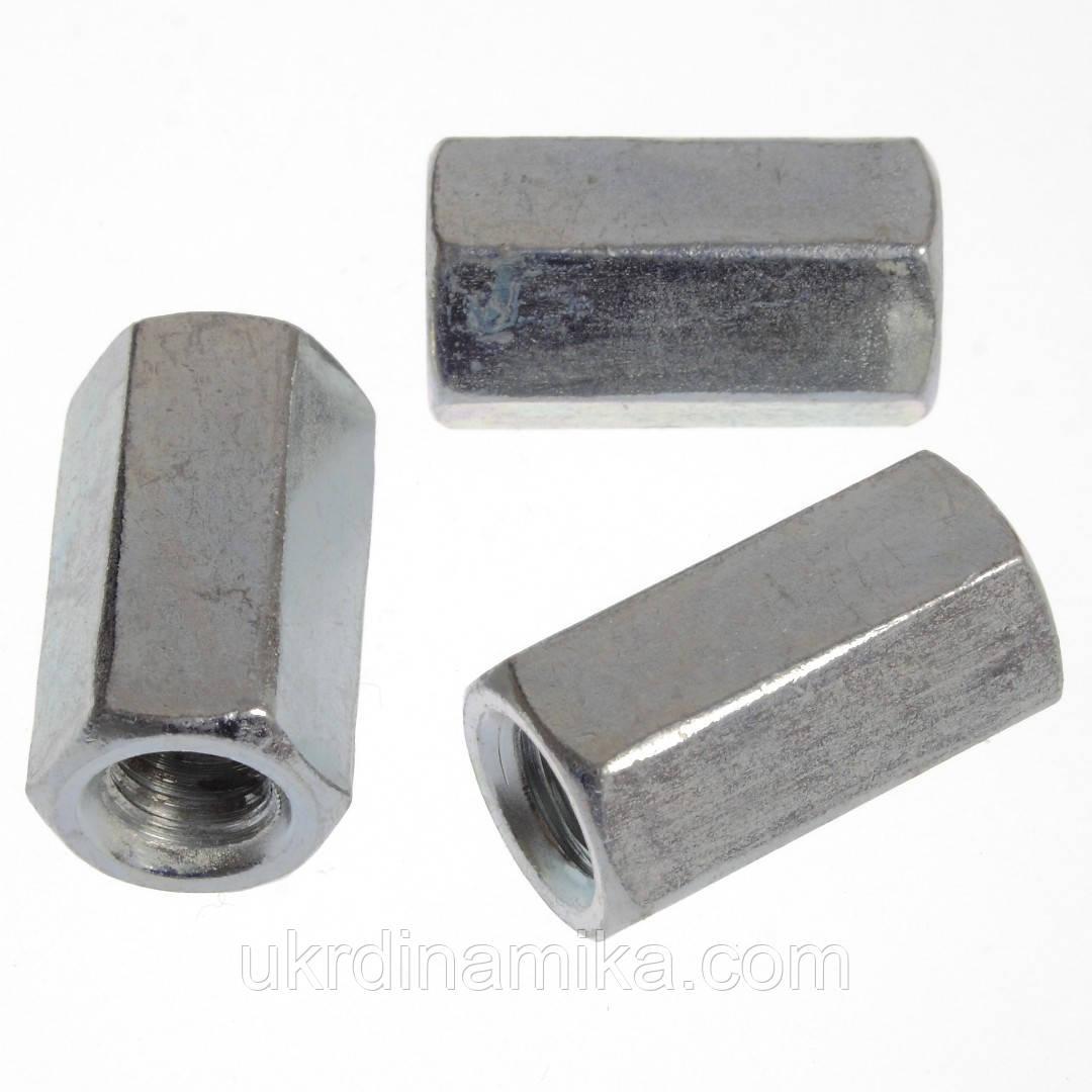 Гайка соединительная(муфта) DIN 6334 А2 А4