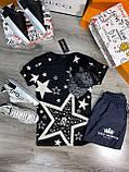 Мужская футболка Dolce & Gabbana D9383 черная, фото 2