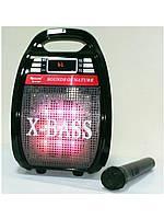 Колонка - комбик Golon RX 820 BT, портативный приемник, FM - радио, микрофон