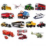 Игрушечные машинки, самолетики, техника