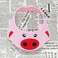 Козырёк для купания детей Leluno / Зверушки розовая хрюшка