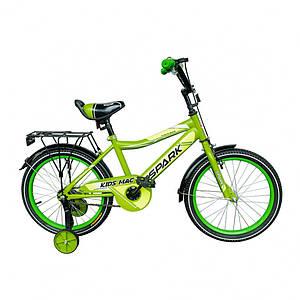 """Велосипед детский 16"""" для мальчика  8,5"""" SPARK KIDS MAC"""