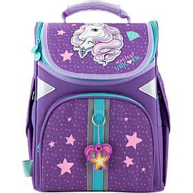 Рюкзак школьный каркасный GO20-5001S-1 для девочек