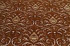 Коврик рельефные HADISE 2819a 1,5Х2,3 Коричневый прямоугольник, фото 4