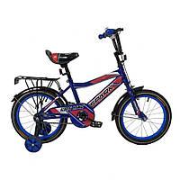 """Велосипед детский 18"""" для мальчика  9,5"""" SPARK KIDS MAC"""