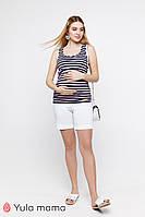 Шорты для беременных MENDIE SH-20.022 белые