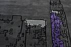 Коврик современный HAND TUFTED V Cityscape Rug 1 1,5Х2,3 СЕРЫЙ прямоугольник, фото 4
