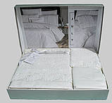 Шикарный Комплект постельного белья евро Moonlight V.I.P July Турция бренд First Choice, фото 2