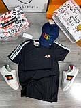 Мужская футболка Gucci D9388 черная, фото 2