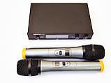 Радиосистема Shure UK80 база 2 радиомикрофона, фото 2
