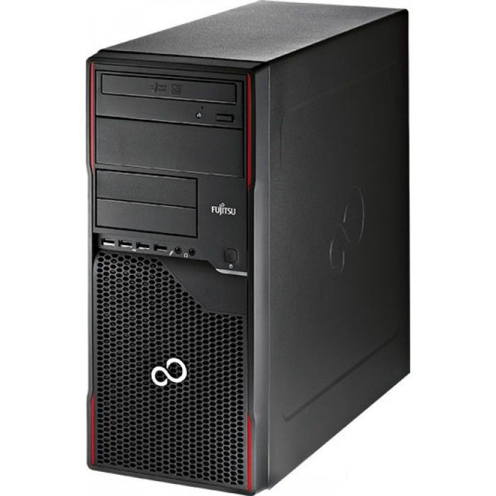 Системный блок Fujitsu ESPRIMO P520-mini tоwer-Intel Pentium G3460-3.5GHz-8Gb-DDR3-HDD-250Gb-DVD-R-