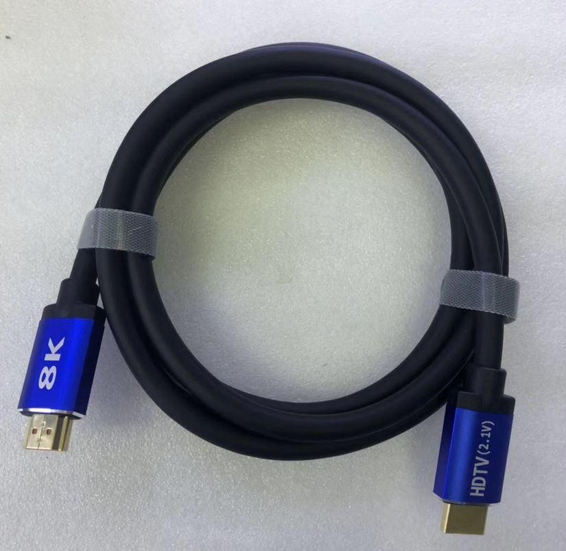 Кабель HDMI to HDMI Real 8K 48Gbps, 2m, v2.1