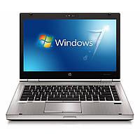 Ноутбук HP Elitebook 8460p-Intel Core-i5-2520M-2.5Gz-4Gb-DDR3-250Gb-HDD-DVD-RW-W14-W7P- Б/У