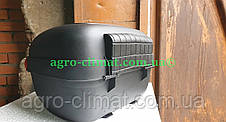 Кофр для мотоцикла багажник черный матовый 26 л на 1 шлем HF-853, фото 3