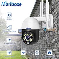 Поворотная IP WI-FI камера Marlboze M-P09 следящая за объектом, зум 4Х, 1080p, фото 1