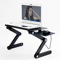 Столик трансформер для ноутбука Laptop Table T8 | подставка для ноутбука, фото 3