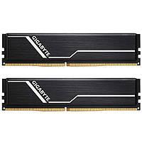 Модуль памяти для компьютера DDR4 16GB (2x8GB) 2666 MHz Timing GIGABYTE (GP-GR26C16S8K2HU416), фото 1