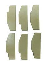 Запчасти для пневмогайковерта KAAA/KAAB1640, KAAA1650B (лопатки 6 шт) TOPTUL KAEC0290