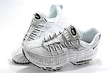 Женские белые кроссовки в стиле Nike Air Max 95, White, фото 3