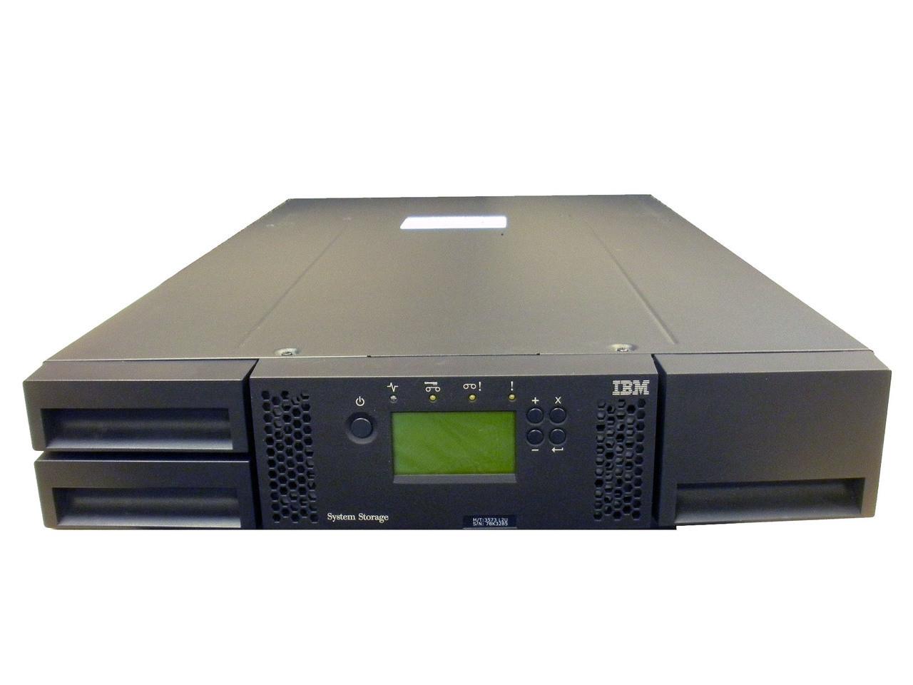 Ленточные библиотеки TS3100 и TS3200 (3573-L2U, L4U) - Б/У