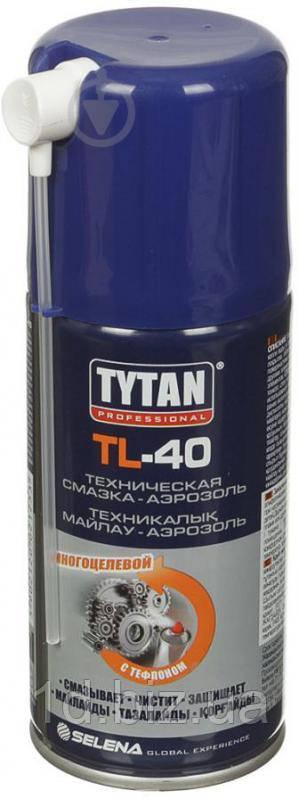 Tytan TL-40 (Титан ТЛ-40) — техническая смазка в аэрозольной упаковке