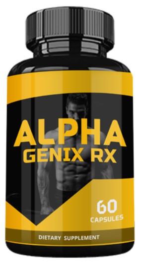 Alpha Genix RX (Альфа Дженикс Ерікс) — капсули для підвищення потенції