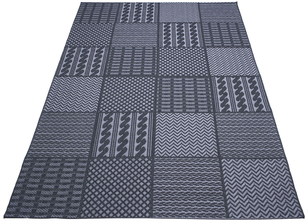 Ковер безворсные JERSEY HOME 6769 2Х2,9 Темно-серый прямоугольник