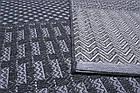 Ковер безворсные JERSEY HOME 6769 2Х2,9 Темно-серый прямоугольник, фото 2