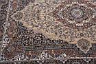 Коврик восточная классика Kashan 612 1,5Х2,25 БЕЖЕВЫЙ прямоугольник, фото 6