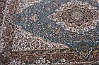 Коврик восточная классика Kashan 612 1,5Х2,25 БЕЖЕВЫЙ прямоугольник, фото 8