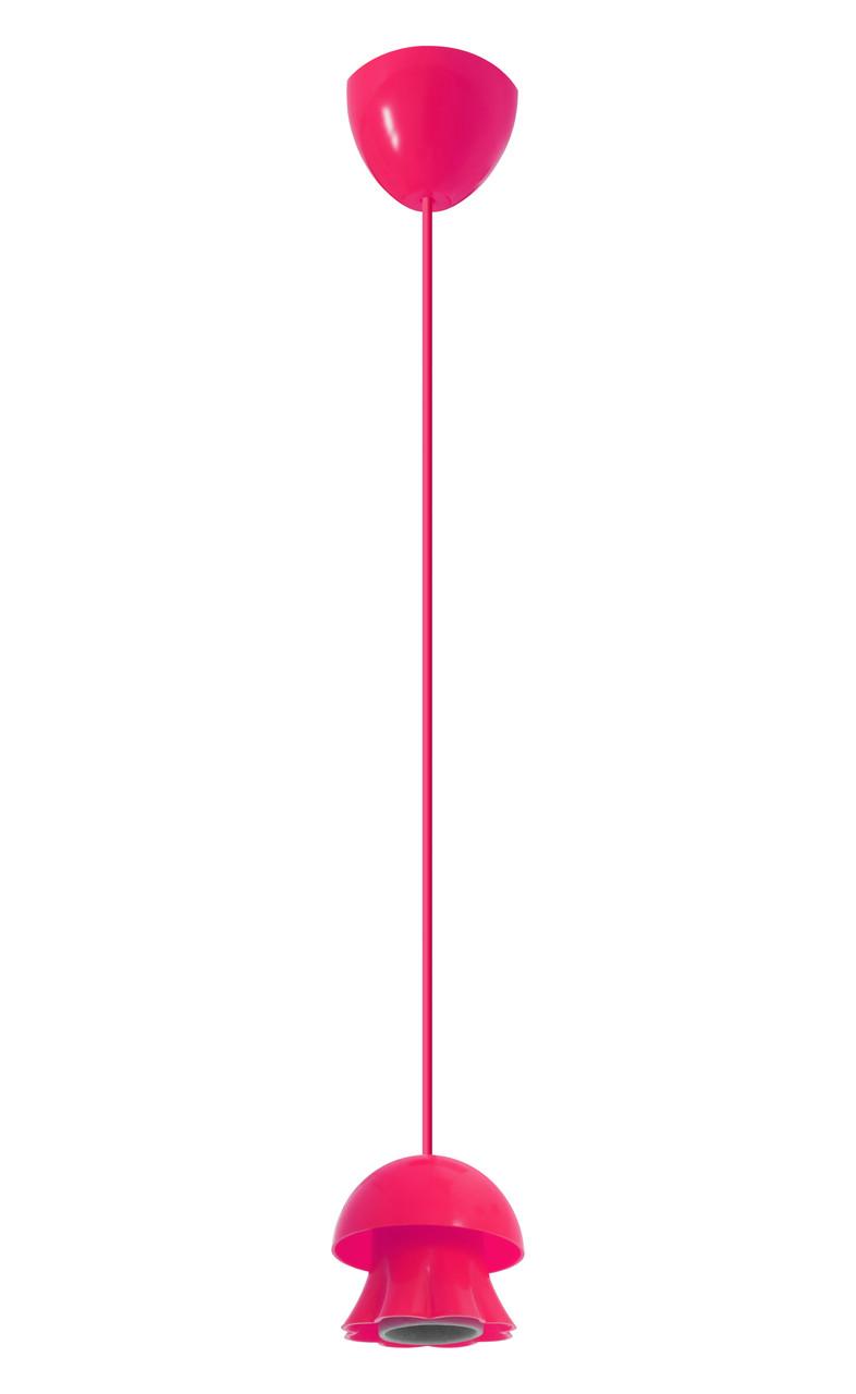 ERKA підвіс для підвісного світильника 60W, Е27 рожевий 0,8 м