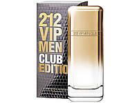 Оригинал Каролина Херрера 212 Вип Мен Клаб Эдишн 100ml edt Carolina Herrera 212 VIP Men Club Edition