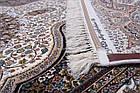 Коврик восточная классика Kashan 620 1,5Х2,25 КРЕМОВЫЙ прямоугольник, фото 3
