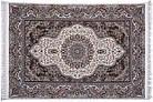 Коврик восточная классика Kashan 620 1,5Х2,25 КРЕМОВЫЙ прямоугольник, фото 5