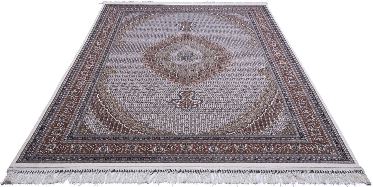 Ковер восточная классика Kashan 707 2Х2,9 СИНИЙ прямоугольник