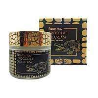 Крем для лица с крокодильим жиром FARMSTAY Crocodile Oil Cream 70g
