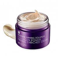 Крем для лица с коллагеном увлажняющий MIZON Collagen Power Firming Enriched Cream 50ml