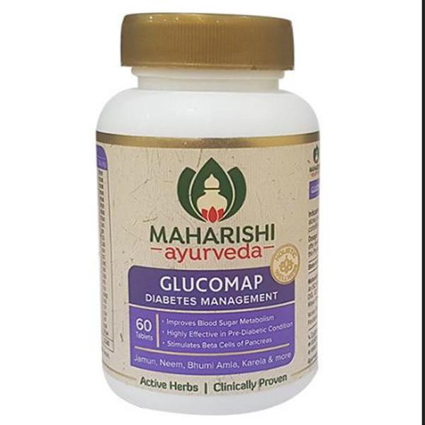 Глюкомап от диабета, 60 таб, производитель Махариши Аюрведа; Glucomap, 60 tabs, Maharishi Ayurveda