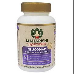 Глюкомап від діабету, 60 таб, виробник Махаріші Аюрведа; Glucomap, 60 tabs, Maharishi Ayurveda