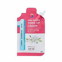 Крем-тон для лица (база под макияж) EYENLIP Milk Flower Tone Up Cream 20g