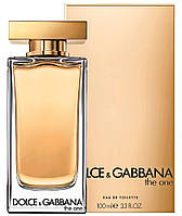 Оригинал Дольче Габбана Зе Ван 2017 100ml Женская Туалетная Вода D&G The One Eau de Toilette Dolce Gabbana, фото 1
